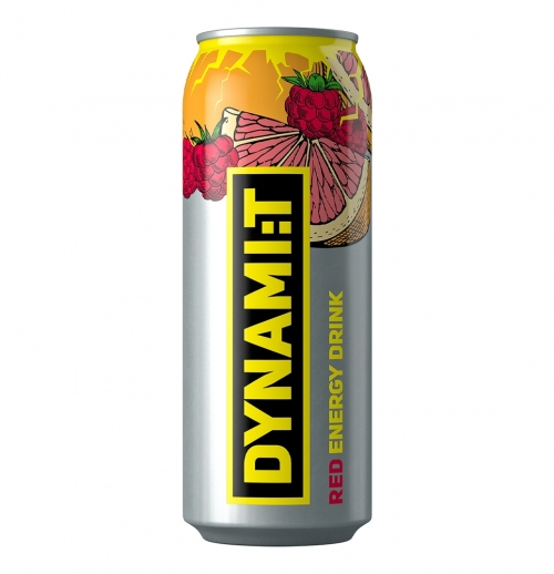 Dynamit Red Energy Drink 0.5L